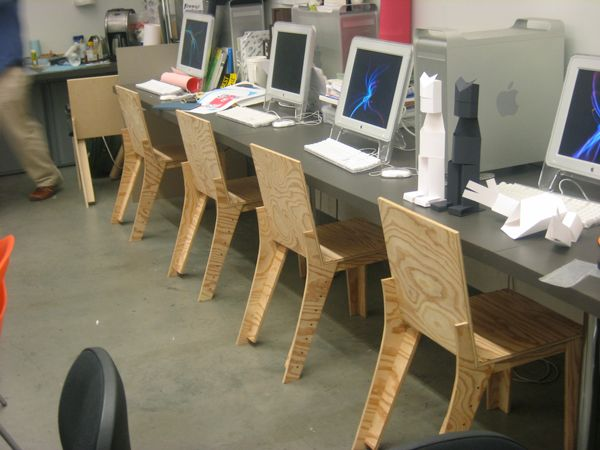 Tony Venne Cnc Chair