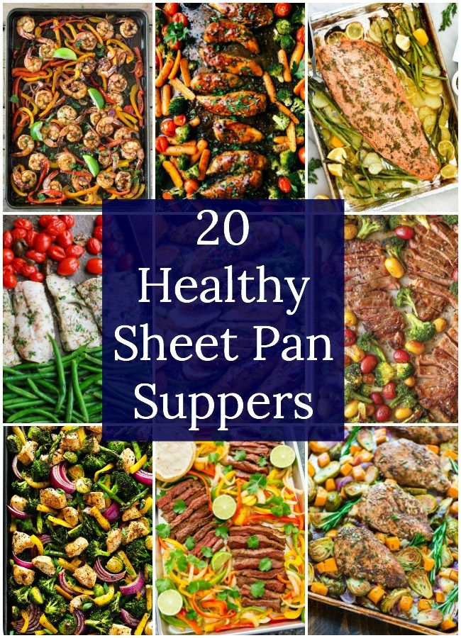 20 Healthy Sheet Pan Suppers