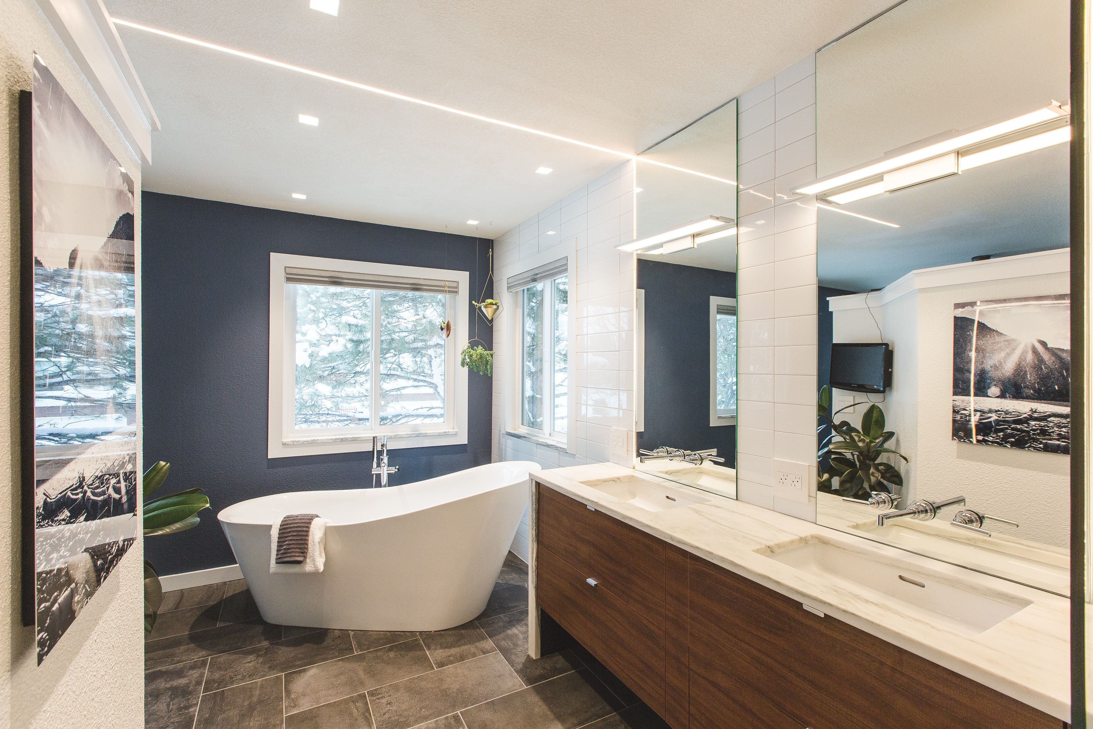Modern Master Bathroom Suite | Bathrooms | Pinterest | Modern master ...