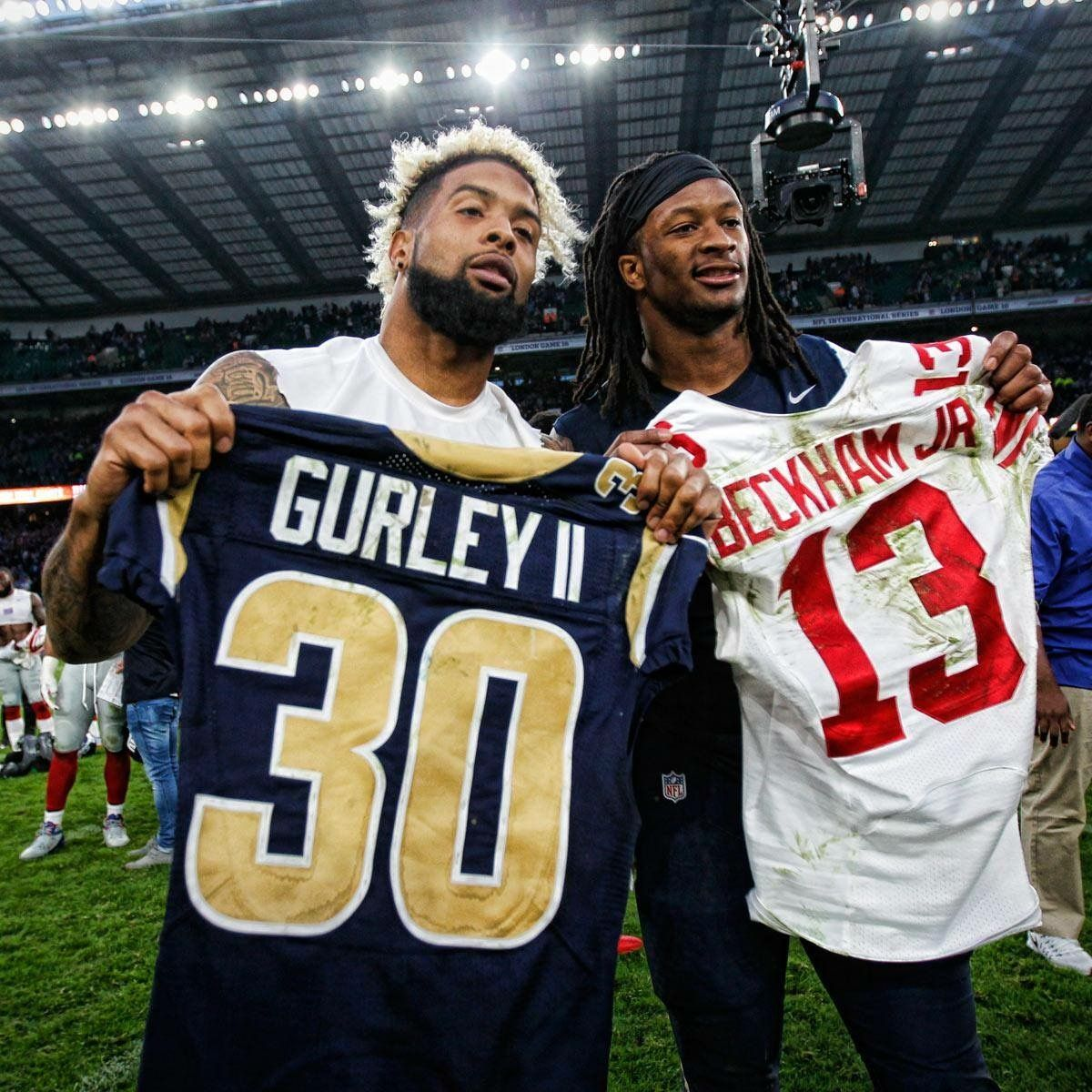 Young And Hungry Todd Gurley Beckham Jr Nfl Football
