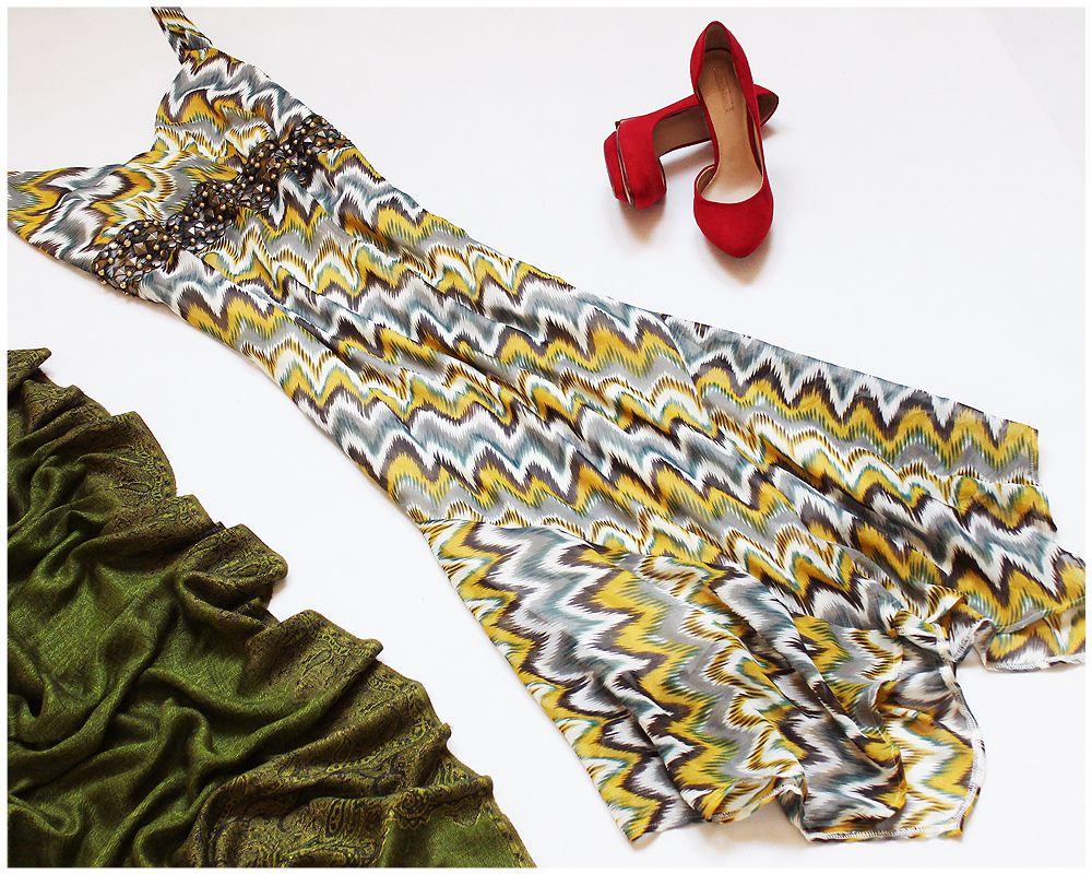 George Szyfonowa Sukienka Wzor Aztecki Dzety 44 7224961176 Oficjalne Archiwum Allegro Moda Boho Hippie Boho Fashion
