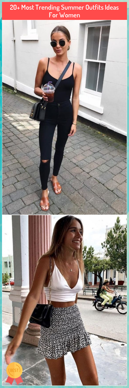 20+ Most Trending Summer Outfits Ideas For Women #20+ #Most #Trending #Summer #Outfits #Ideas #For #Women