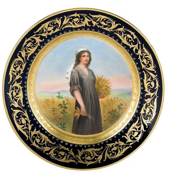 Royal Vienna Porcelain   Çizim, Seramik ve Kutular