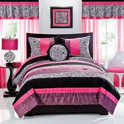 Seventeen Gigi Bedding From Kohl S Zebra Bedroom Girl