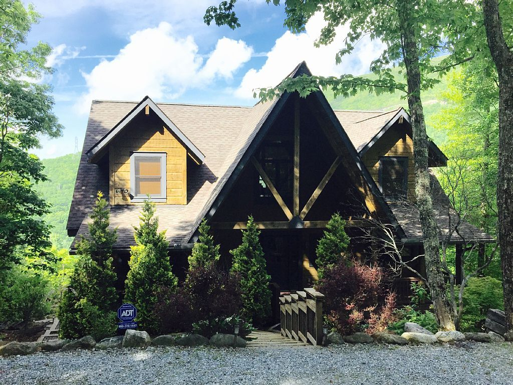 Cabin vacation rental in lake toxaway nc usa from vrbo