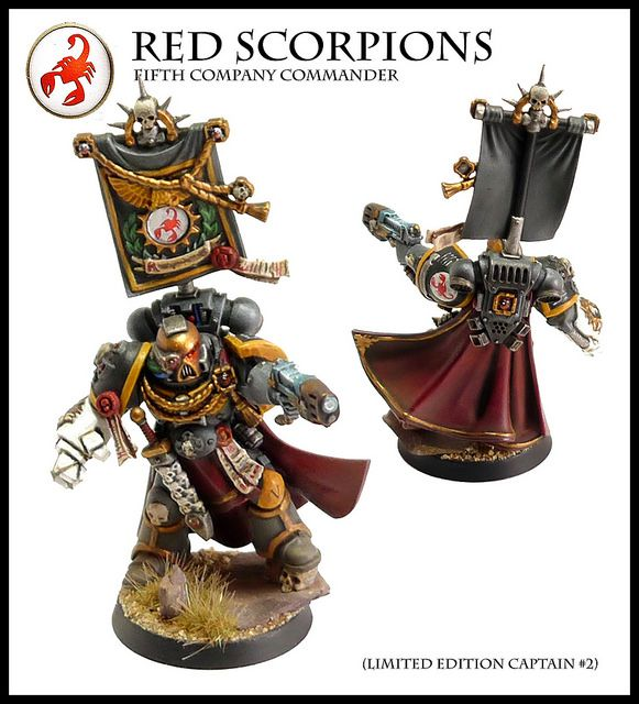 Red Scorpions Fifth Company Commander | Flickr - Photo Sharing!