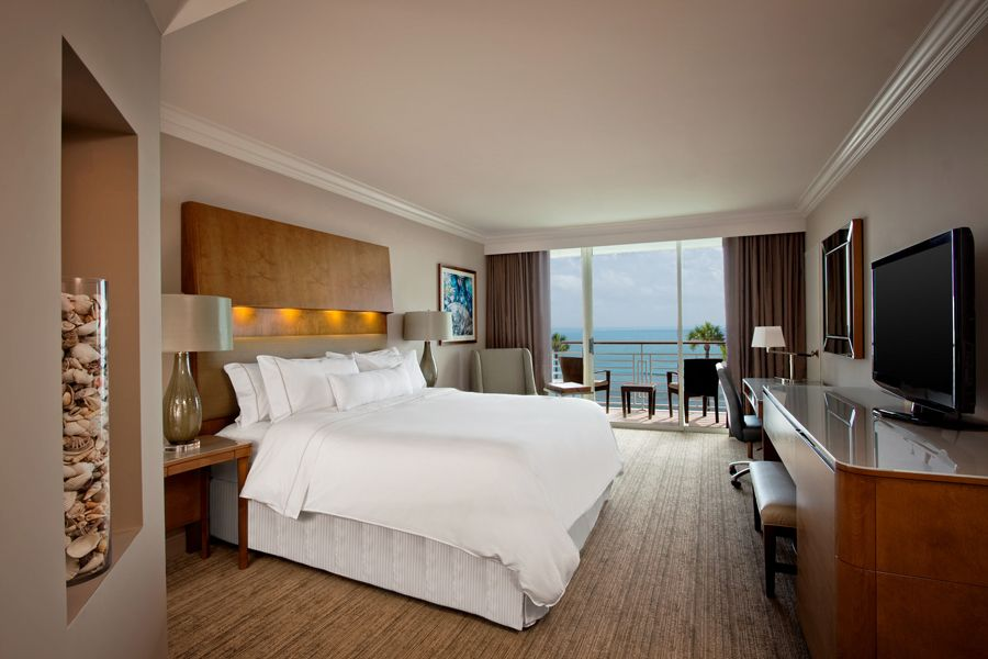 A Premium Ocean Front Guestroom With King Bed The Westin Hilton