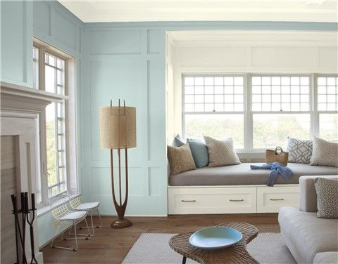 Look At The Paint Color Combination I Created With Benjamin Moore Via Walls Annapolis Green 687 Ceiling Bavarian Cream 2146 70