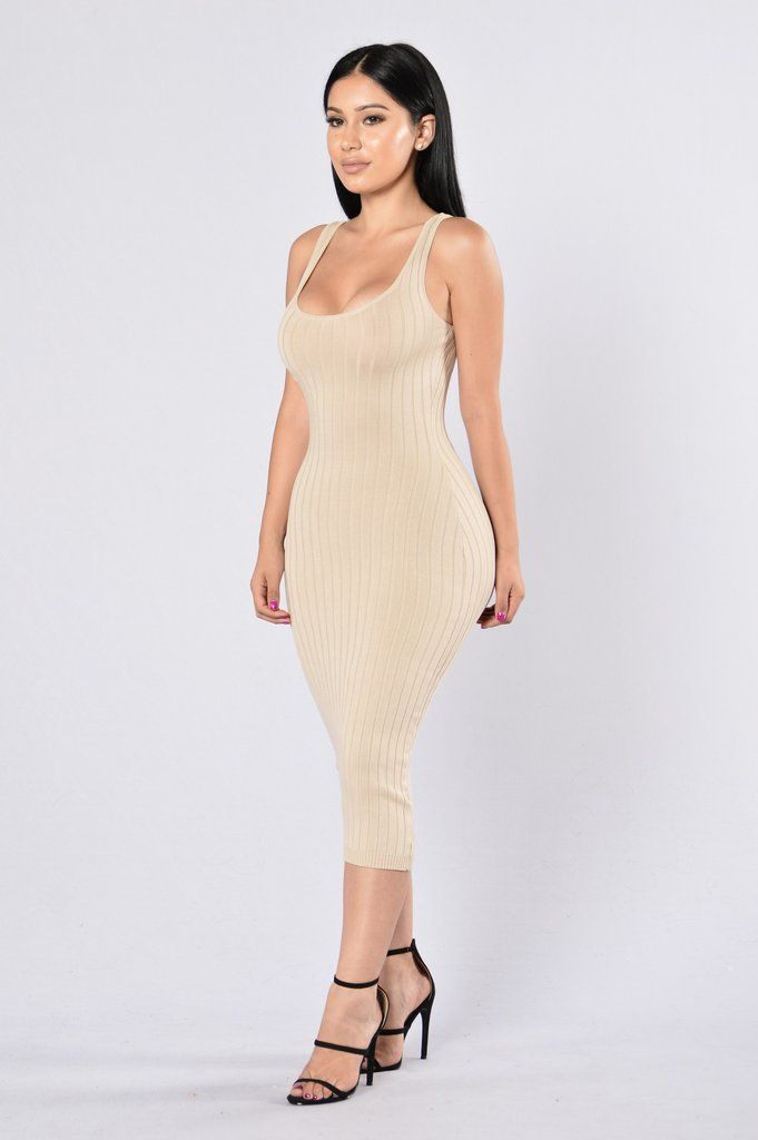 bd1f44d8aba Got Plans  Dress - Taupe in 2019