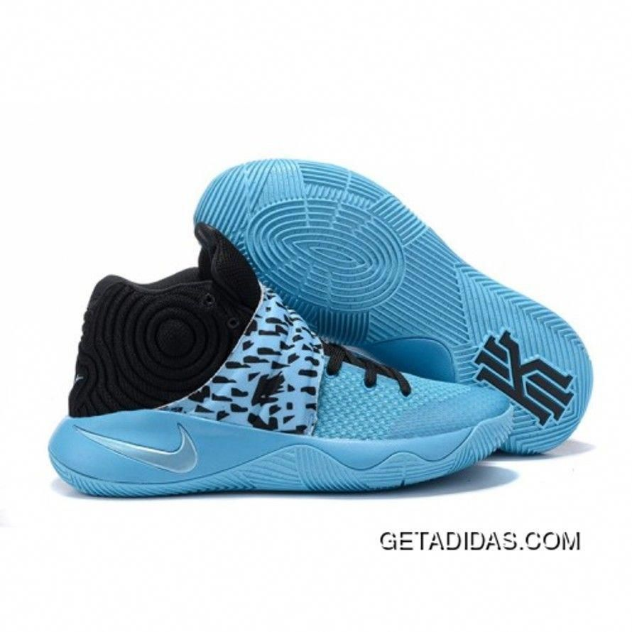 112e3d7a1a96 NIKE KYRIE 2 SNEAKERS BLUE BLACK BASKETBALL SHOES FREE SHIPPING Only  98.40