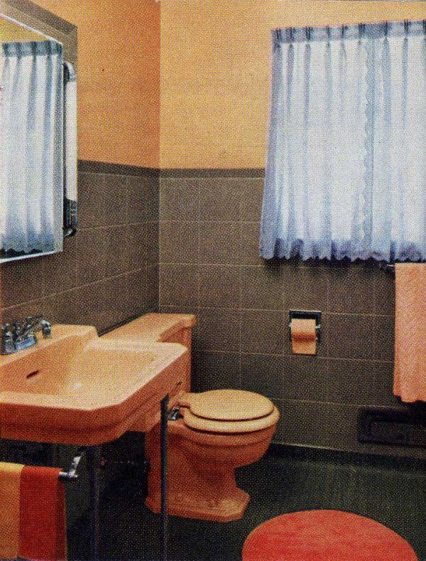 Aladdin Pink Bathroom - 1953 | Pink bathrooms | Pinterest | Grey ...