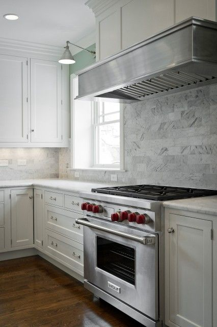 Kitchens Subway Tiles Backsplash White Creamy Shaker