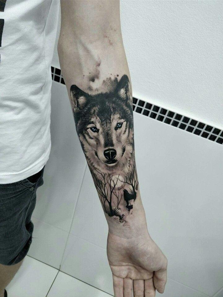 Tatuagem no antebraço Animal