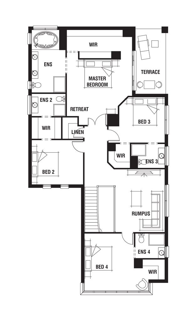 Porter Davis Homes - House Design: Waldorf | Floor Plans ...