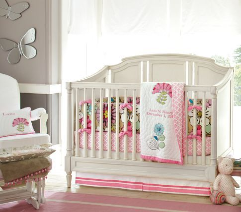 Darcy Fixed Gate 3-in-1 Crib | Pottery Barn Kids. Love the crib