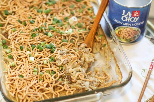 ground beef chow mein casserole  recipe in 2020  quick