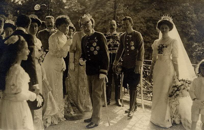 The Wedding of Archduke Karl and Princess Zita of Bourbon-Parma.