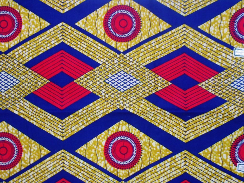 Kente african print fabric sold by the yard via for Textile fabrics