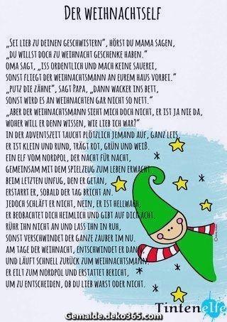 Einzigartige Und Kreative Fummeln Und Nahen Fur Jedes Kinder Adventsgeschichte Mit Einem Kl Advent For Kids Christmas Diy Christmas Advent