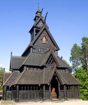 Stavkirken fra Gol - Norsk Folkemuseum