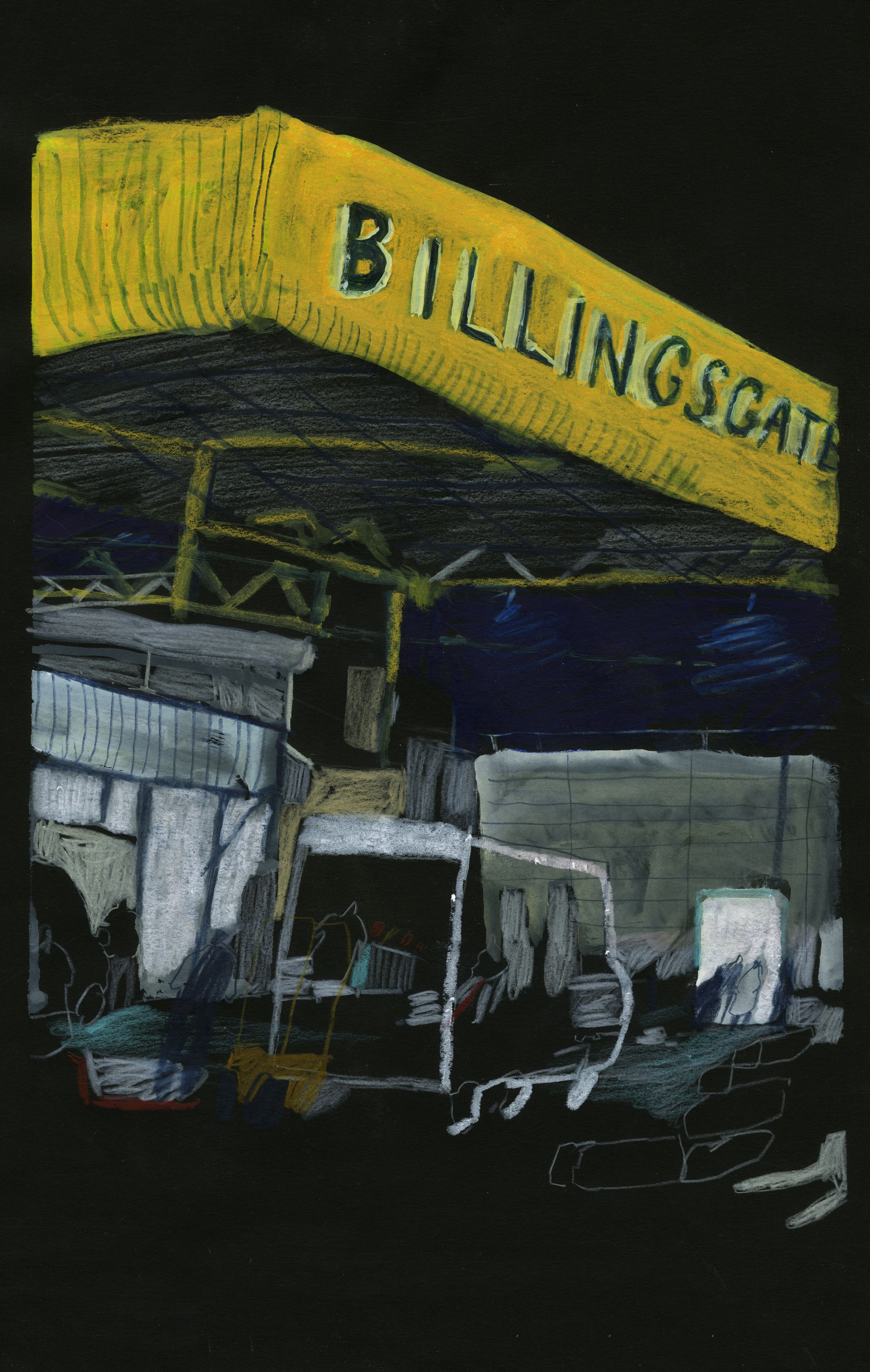 Billingsgate Reportage project.  An insight into the life at Billingsgate market, the UK's largest inland fish market.