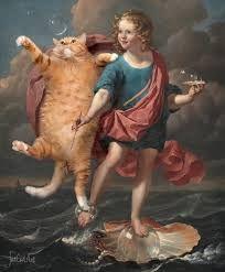 fat cat art - Cerca con Google
