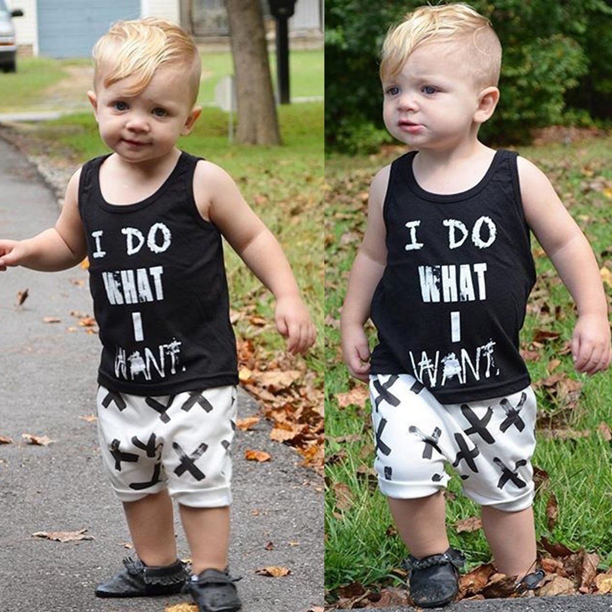 9c7ff7141  6.64 - 2Pcs Toddler Kids Baby Boy T-Shirt Tops+Pants Summer Casual ...
