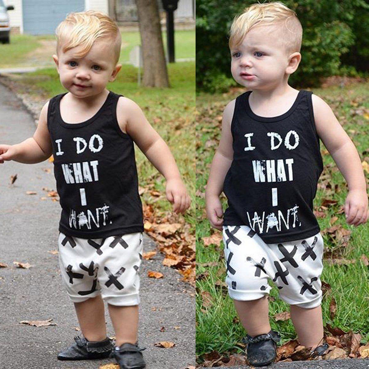 2baf008291a6  6.64 - 2Pcs Toddler Kids Baby Boy T-Shirt Tops+Pants Summer Casual Outfits  Clothing Set  ebay  Fashion