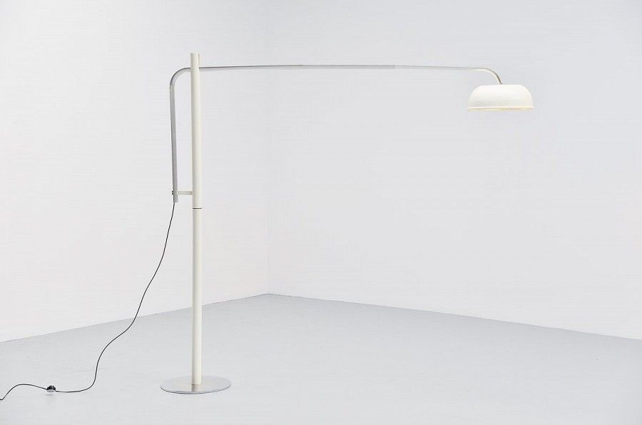 Italian Arc Floor Lamp 1970 Mass Modern Design