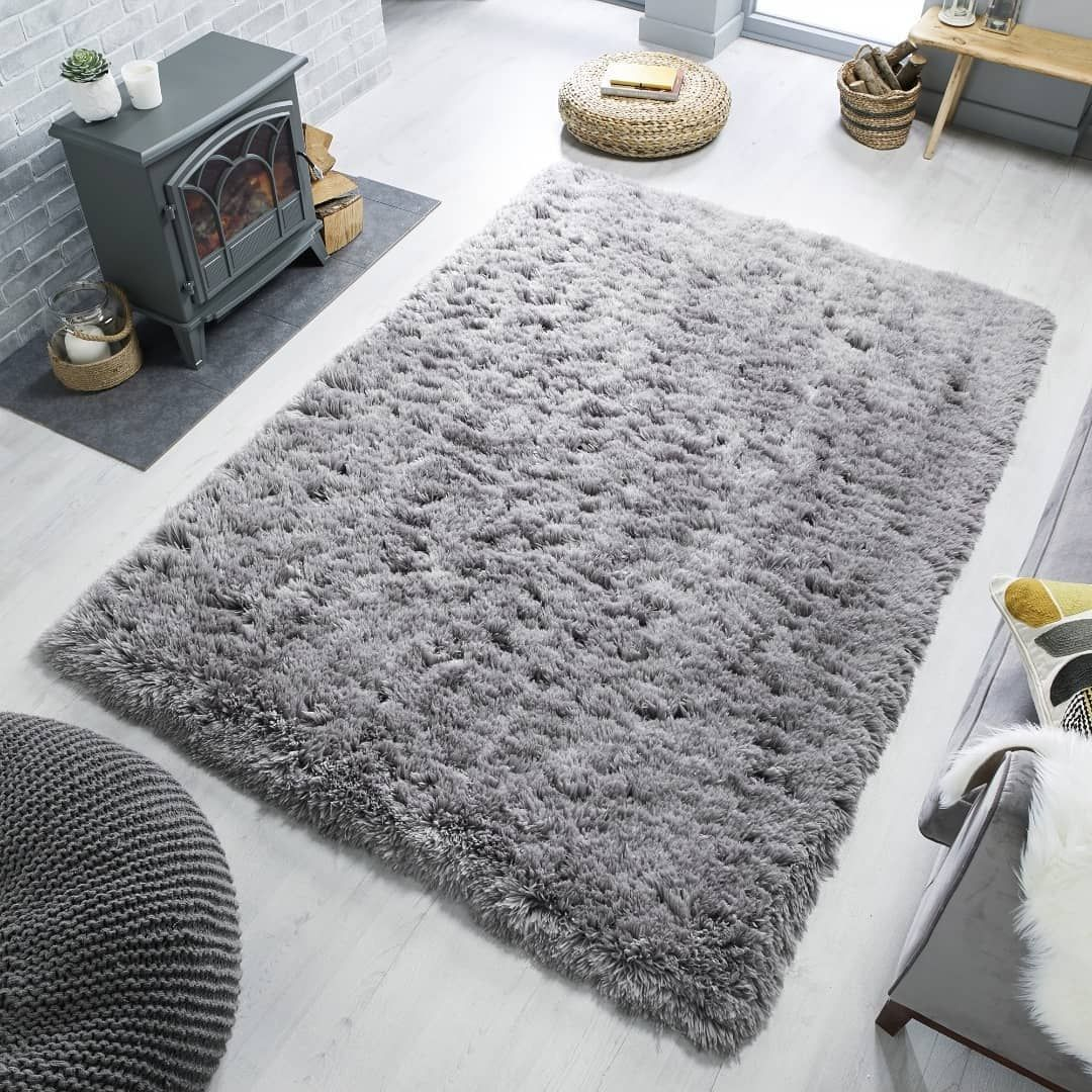 New In The Perfect Winter Rug 8cm Deep Pile Shaggy Rug In Grey Ivory And M 8cm D In 2020 Rugs In Living Room Shaggy Rug Winter Rug