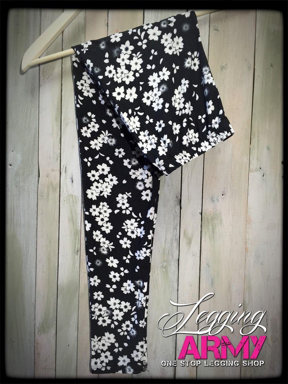 Frosted Flower - Legging Army. http://leggingarmy.com/#leggingdeals