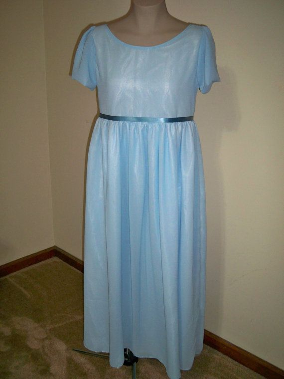 76d12fd1fc Adult Wendy Darling Peter Pan Disney Nightgown costume in light blue ...