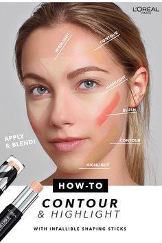 Infallible® Face Pro Foundation Longwear Shaping Sticks by L'Oréal