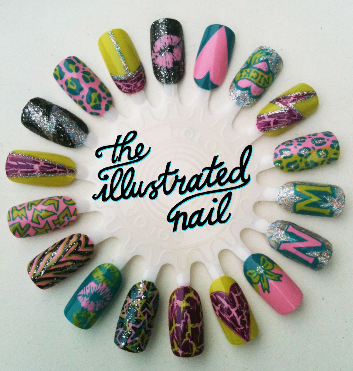 Amazing nail designs with the Nicki Minaj OPI mini collection. Might ...