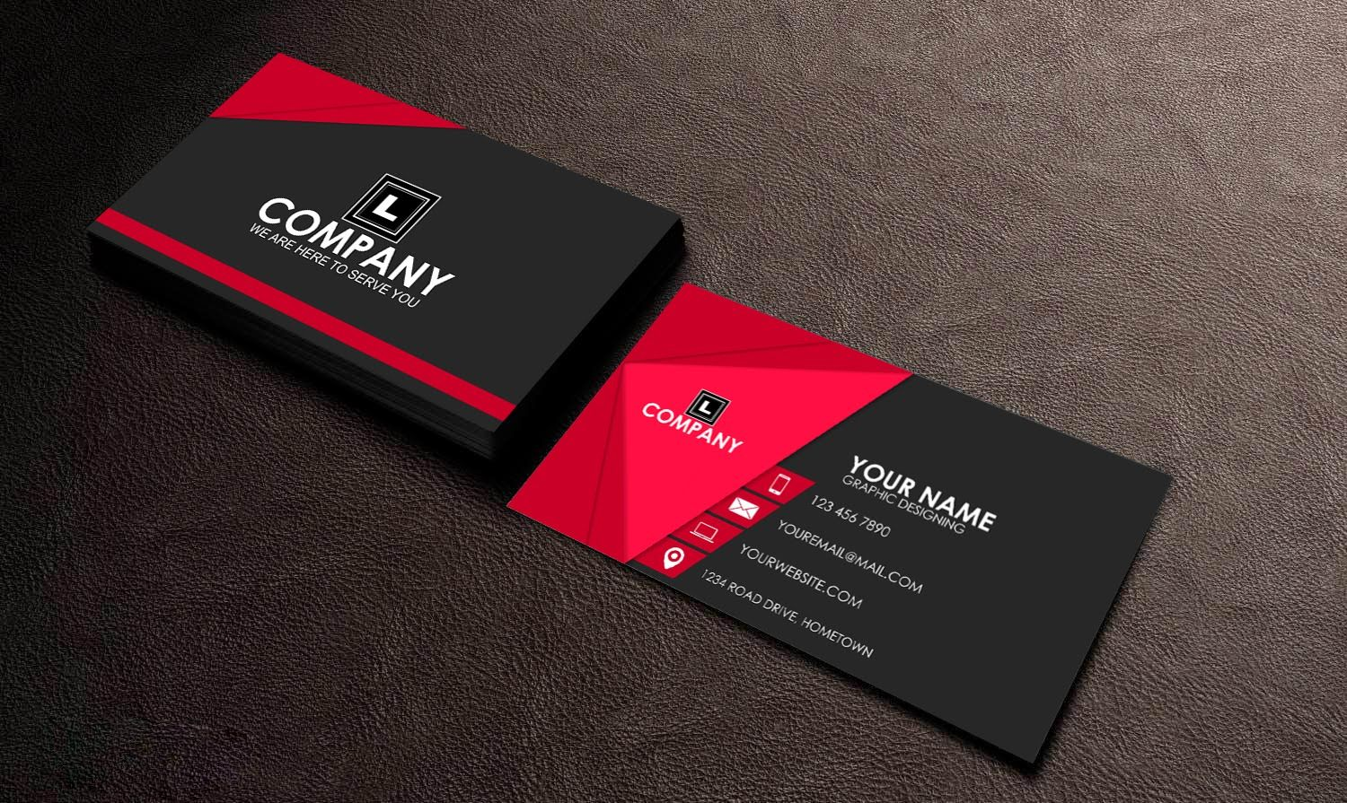 How To Make Business Card In CorelDraw | Professional 3D | Card ...