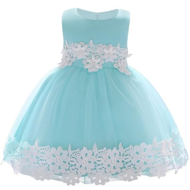 3b9ec5ce44e New Lace Baby Girl Dress 9M-24M 1 Years Baby Girls Birthday Dresses Vestido  birthday party princess dress