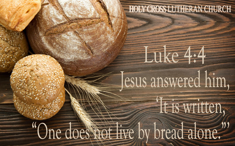 Luke 4 4