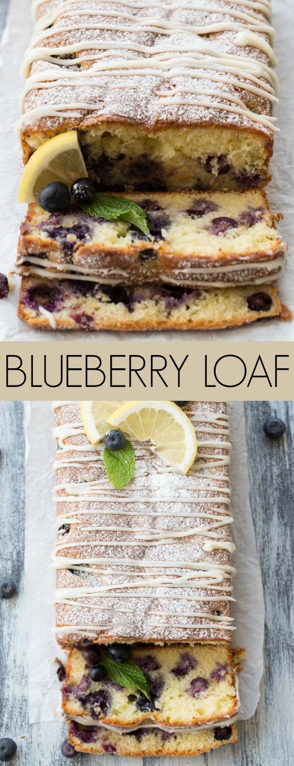 This Best Lemon Blueberry Cake Loaf truly is going to be one of the best blueberry cake loaves you have ever tried. The texture is so soft and delicate and just melts in your mouth.