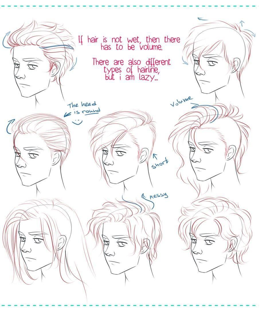 Pin By Negtuvi On Drawing Anime Boy Hair Manga Hair Anime Hair