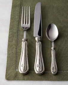 ValPeltro Five-Piece Verona Flatware Place Setting $155.00
