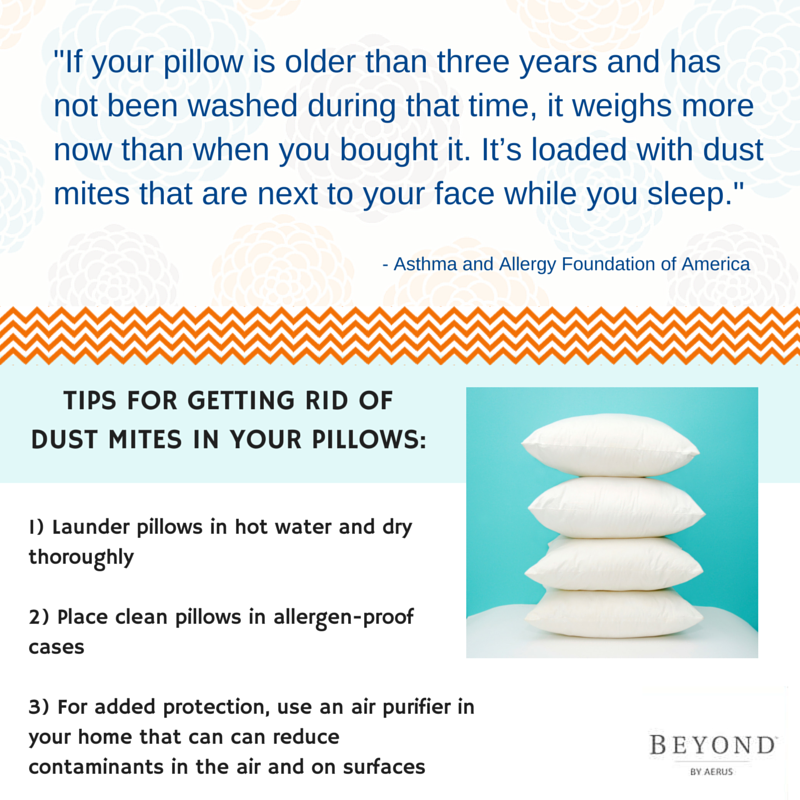 Beyond by AERUS If your pillow is older than 3 years