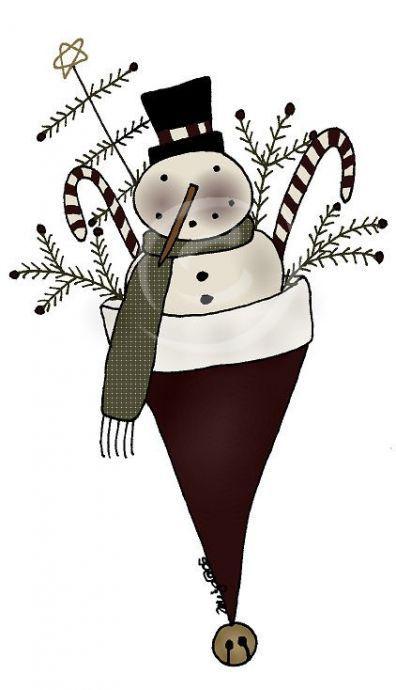 Primitive (With images) | Christmas applique, Primitive ...