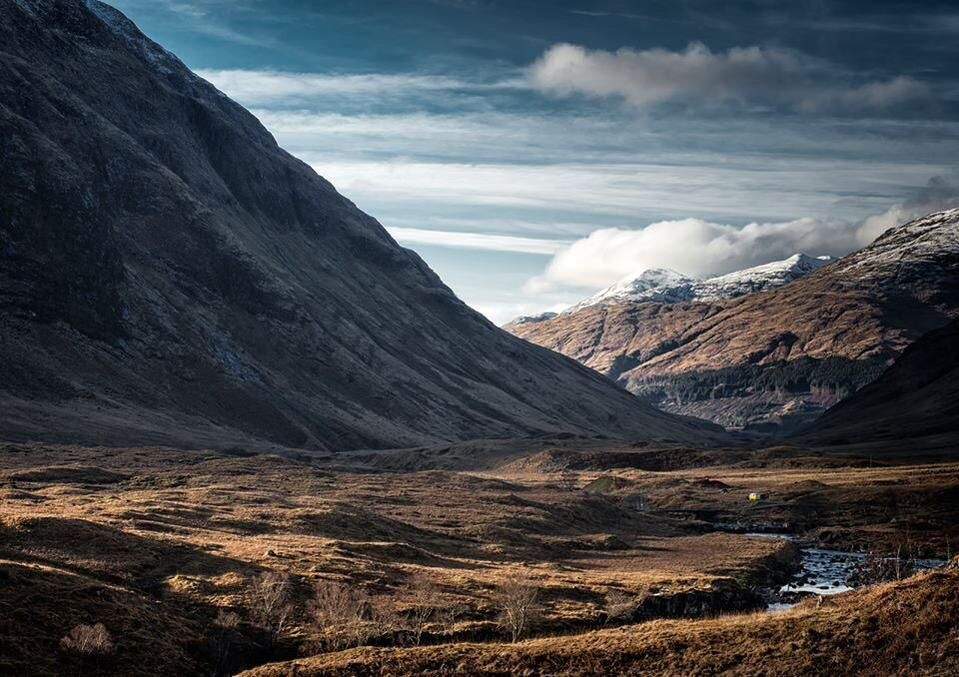 Glencoe looking dramatic by @RossParkerPhoto #Scotland