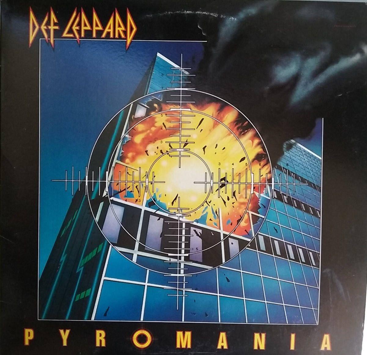 Def Leppard Pyromania Vintage Record Album Vinyl Lp Classic Rock And Roll Music Hard Rock English Def Leppard Def Leppard Pyromania Vintage Vinyl Records