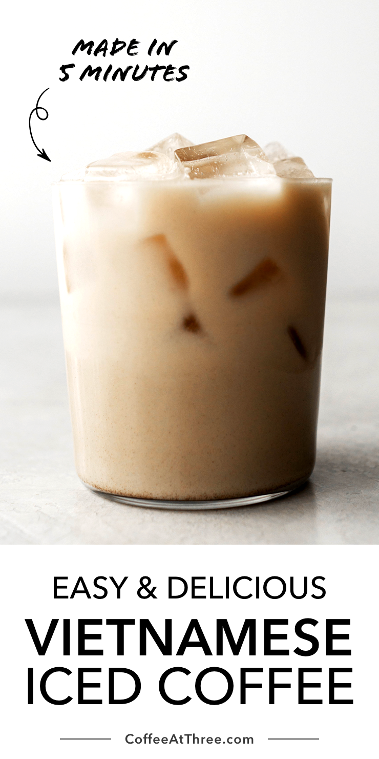 Easy And Delicious Vietnamese Coffee In 2020 Iced Coffee Recipe Easy Vietnamese Iced Coffee Coffee Recipes