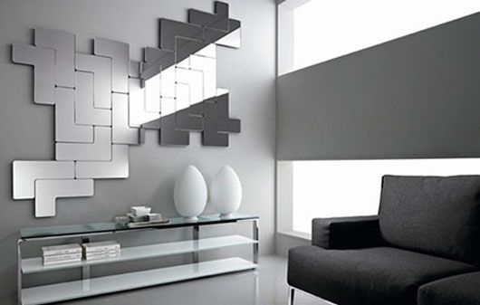 Elegant Wall Decorating With Mirrors Of Mirror Wall Art Wall ...