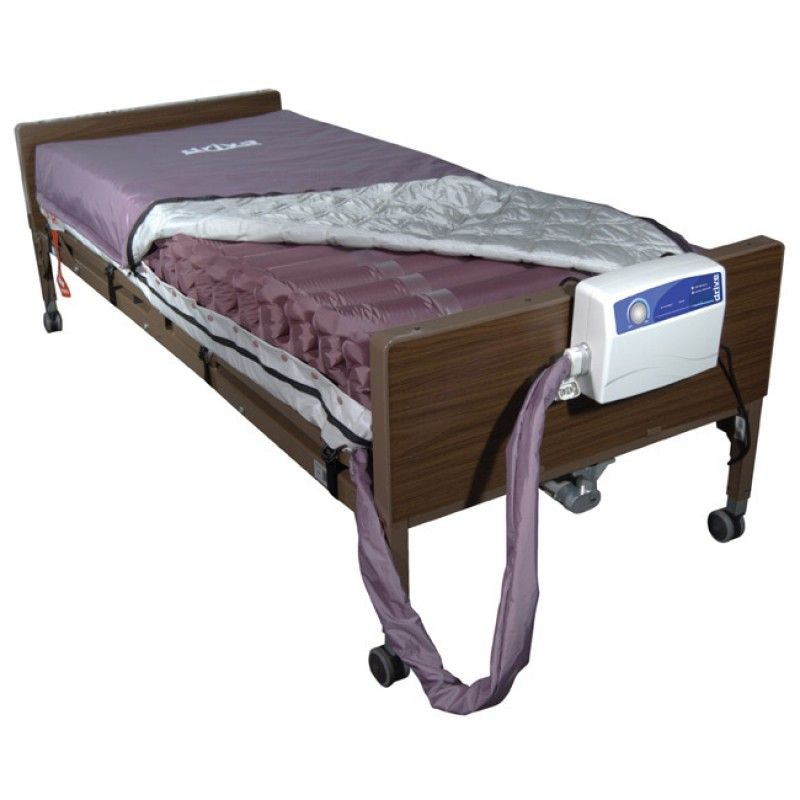 Med Aire 8 Alternating Pressure And Low Air Loss Mattress System Air Mattress Hospital Bed Mattress