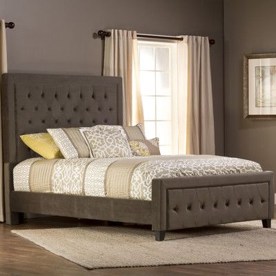 Darby Home Co Elnora California king Upholstered Panel Bed ...