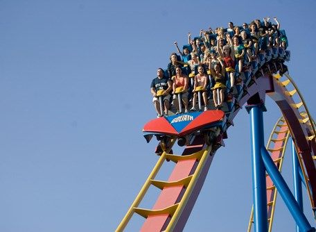 #laronde #amusementpark is a fun #montrealattraction to visit with #family & #friends
