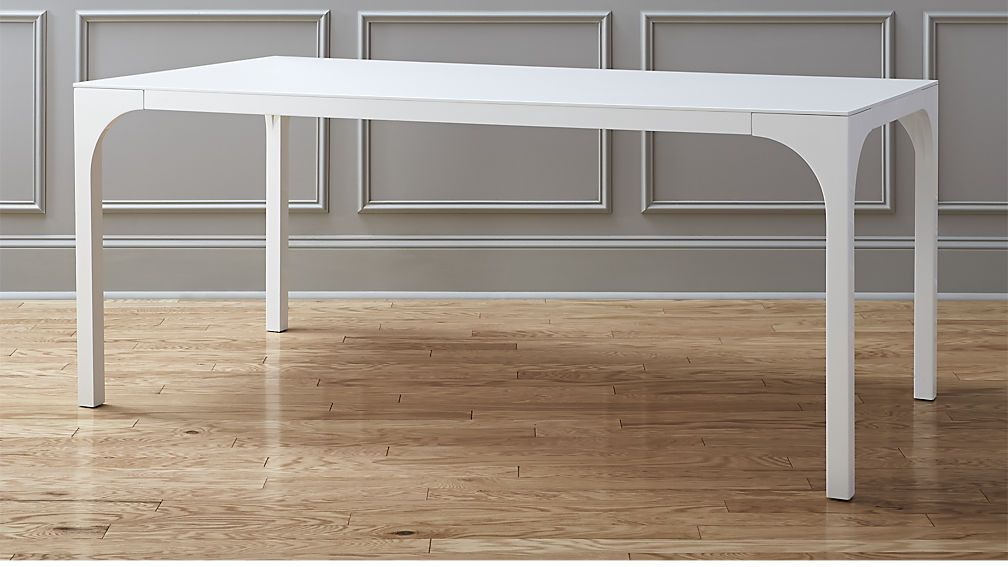 Aqua Virgo Dining Table White Gloss Dining Table Outdoor Wood
